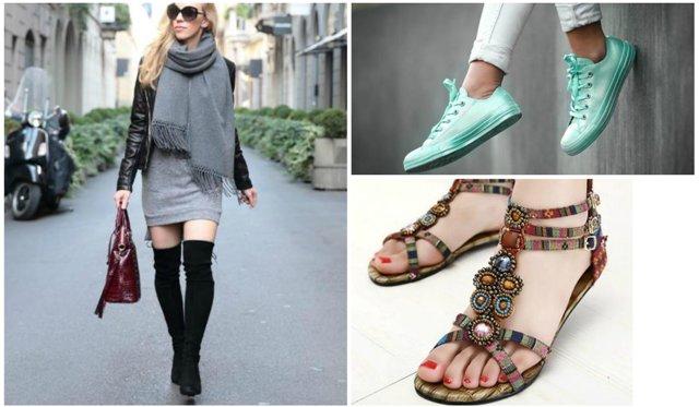 5ef5c926211 Μια σύγχρονη γυναίκα έχει να χειριστεί δύο ντουλάπες: Η μία για τα ρούχα  και η άλλη για τα παπούτσια. Είναι εκπληκτικό το πόσο πολλές γυναίκες είναι  ...
